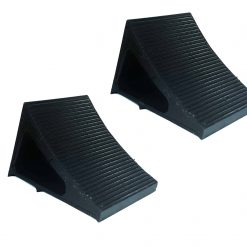 Elasco Wheel Chocks Black 2 Pack