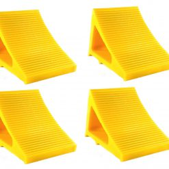 Elasco Wheel Chocks Yellow 4 Pack