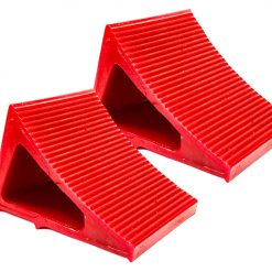 Elasco Wheel Chocks Red 2 Pack