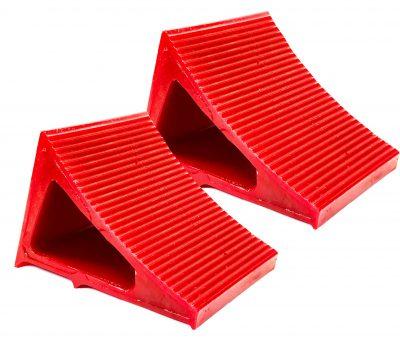 Elasco Wheel Chocks Red 2 Pack