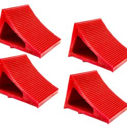 Elasco Wheel Chocks Red 4 Pack