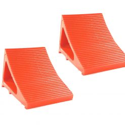 Elasco Wheel Chocks Orange 2 Pack