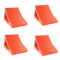 Elasco Wheel Chocks Orange 4 Pack