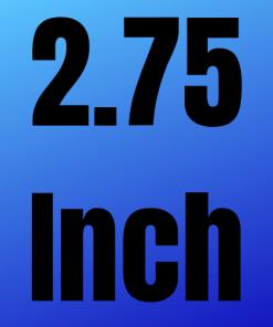 """Channel Width 2.75"""""""