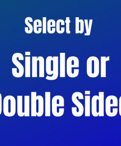 Single Double Sided
