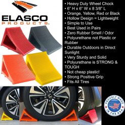 Cable Protector Works Elasco Products Wheel Chocks RV Polyurethane