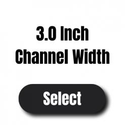 Channel Width 3″