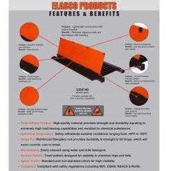Elasco-Products-UltraGuard-Cable-Protector-UG5140-ADA-BLUE-GLOW-5
