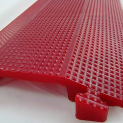 ft Single  inch Channel Drop Over Cable Ramp Protector for Cables Hoses Wires in Home Garage and Office Polyureth BHTSQJ