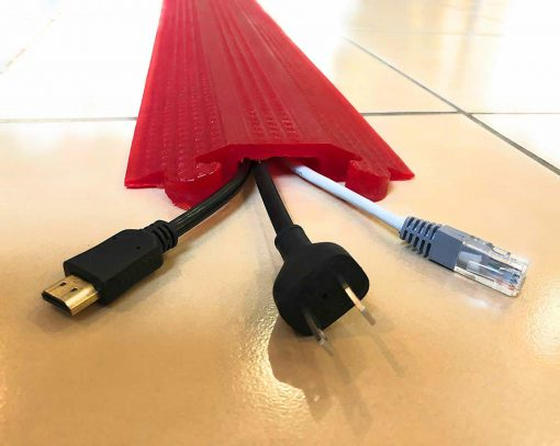 Cable Protector Works Elasco Products Cable Cover Polyurethane