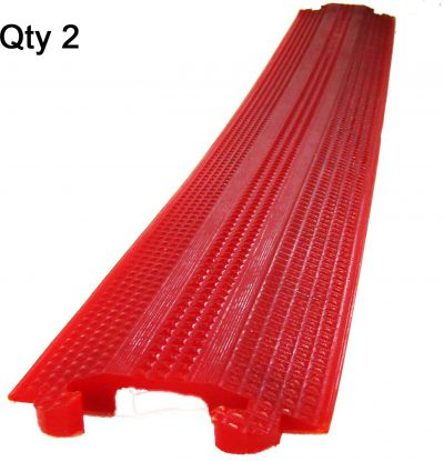 ft Small Office Home Office Indoor Outdoor Cable Protector Wire CoverWeatherproof Polyurethane Single Channel Great BCSQS