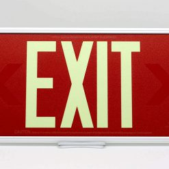 50 Feet EXIT Sign