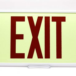 75 Feet EXIT Sign