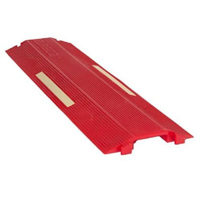 Elasco ED R GLOW Polyurethane Heavy Duty Drop Over Cable Ramp Protector Cover Concealer Single Channel  Channe BZNZL