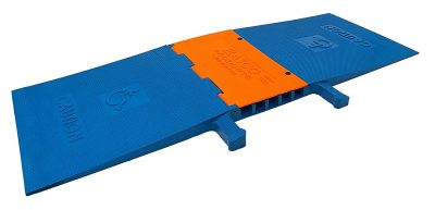 Elasco Heavy Duty Polyurethane Weatherproof Five Channel Cable Guard  per Channel ADA Americans with Disabilities BZZFXLG