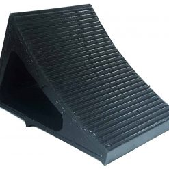 Elasco Wheel Chock Weatherproof Outdoor Grade Polyurethane Better Than Rubber or Plastic Keeps Your Trailer or RV in BGQY