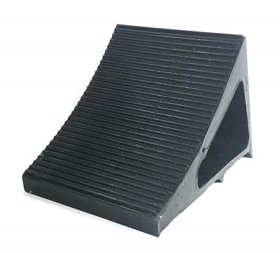 Elasco Wheel Chock Weatherproof Outdoor Grade Polyurethane better than Rubber or Plastic Keeps Your Trailer or RV In BGVT