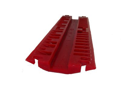Weatherpoof Durable Drop Over Cable Cord Hose Protector Cover Ramp Polyurethane Ultra Strong Single Channel for Cabl BHTSLZ