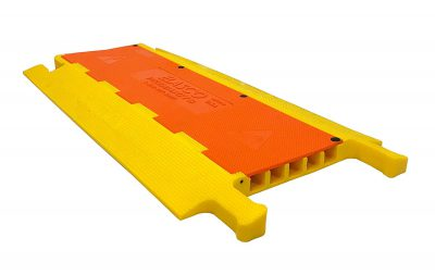 Weatherproof ft Cable Ramp Protective Cover  lbs Max Heavy Duty Hose Cable Track Protector Flip Cover  Cha BCTYG